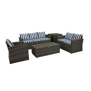 Breakwater Bay Ridgemoor 5 Piece Sofa Set with Cushions