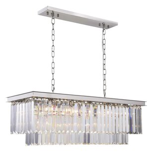 Whipton 12-Light Crystal Chandelier by Ev..