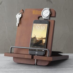 Cathys Concepts Personalized Wooden Docking Station