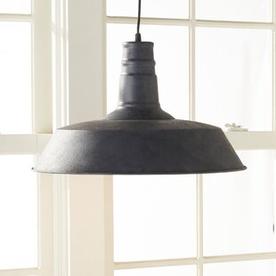 Ilgaz 1-Light Dome Pendant by Trent Austin Design