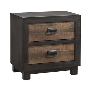 Compare prices Llewellyn 2 Drawer Nightstand by Gracie Oaks