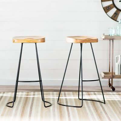 Metal Wood Counter Height Bar Stools You Ll Love In 2019