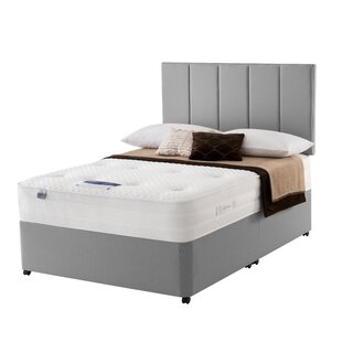 Elena Mirapocket 1000 Geltex Divan Bed By Silentnight