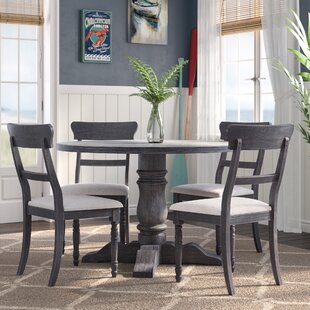 Silverman 5 Piece Dining Set Longshore Tides