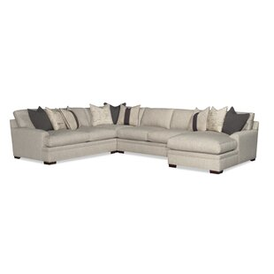 Hutto Sectional with Ottoman by Latitude Run