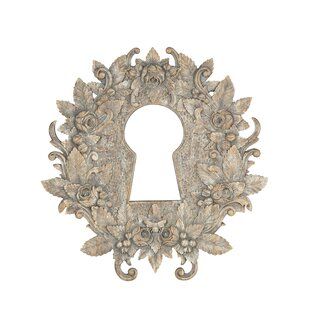 Resource Decor Keyhole Carved Accent Mirror