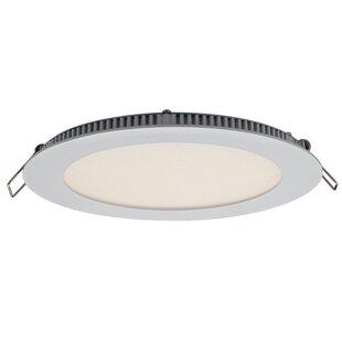 DALS Lighting Round Panel LED Recessed Trim