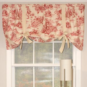Family Farm 50″ Tie-Up Window Valance
