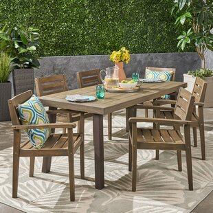 Britton 7 Piece Dining Set by Millwood Pines