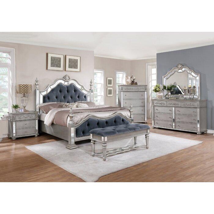 Kieran Standard 6 Piece Bedroom Set