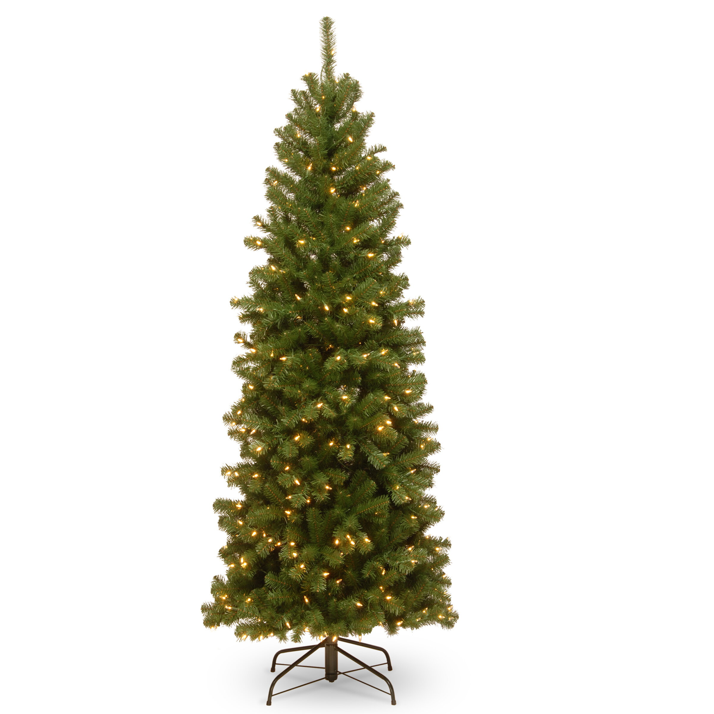 North Valley Pencil Green Spruce Trees Artificial Christmas Tree & Reviews    Joss & Main