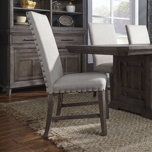 Vanwormer Upholstered Dining Chair (Set of 2) Gracie Oaks