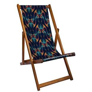 Martinelli Reclining Deck Chair By Mercury Row