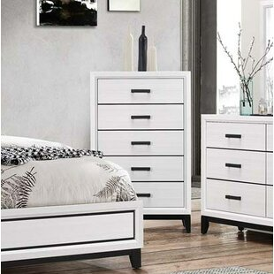 Ebern Designs Wallis 5 Drawer Chest