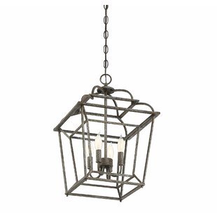 Crompton 4-Light Foyer Pendant by Darby Home Co