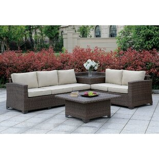 Asotin Patio Sectional with Cushions