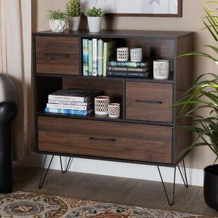 Garlyn Wood Standard Bookcase by Union Rustic