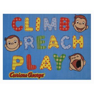 Looking for Curious George Climb, Reach, Play Kids Rug By Fun Rugs