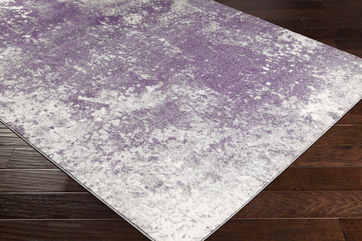 candelaria abstract medium graydark purple area rug. candelaria abstract medium graydark purple area rug  reviews