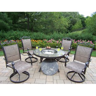 Stone Art 5 Piece Conversation Set by Oakland Living Today Only Sale