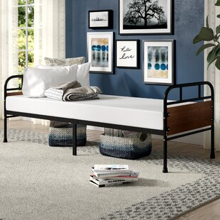 Townsel Narrow Frame Day Bed with Foam Mattress by Latitude Run