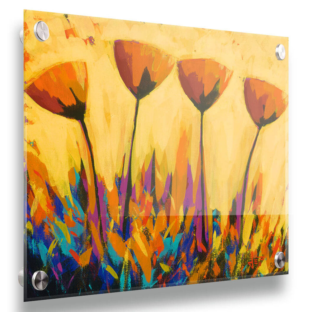 Red Barrel Studio Symphony Of Color By Jeff Boutin Painting Print Wrapped On Canvas Wayfair