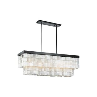 Guide to buy Janiya 5-Light Kitchen Island Pendant By Beachcrest Home