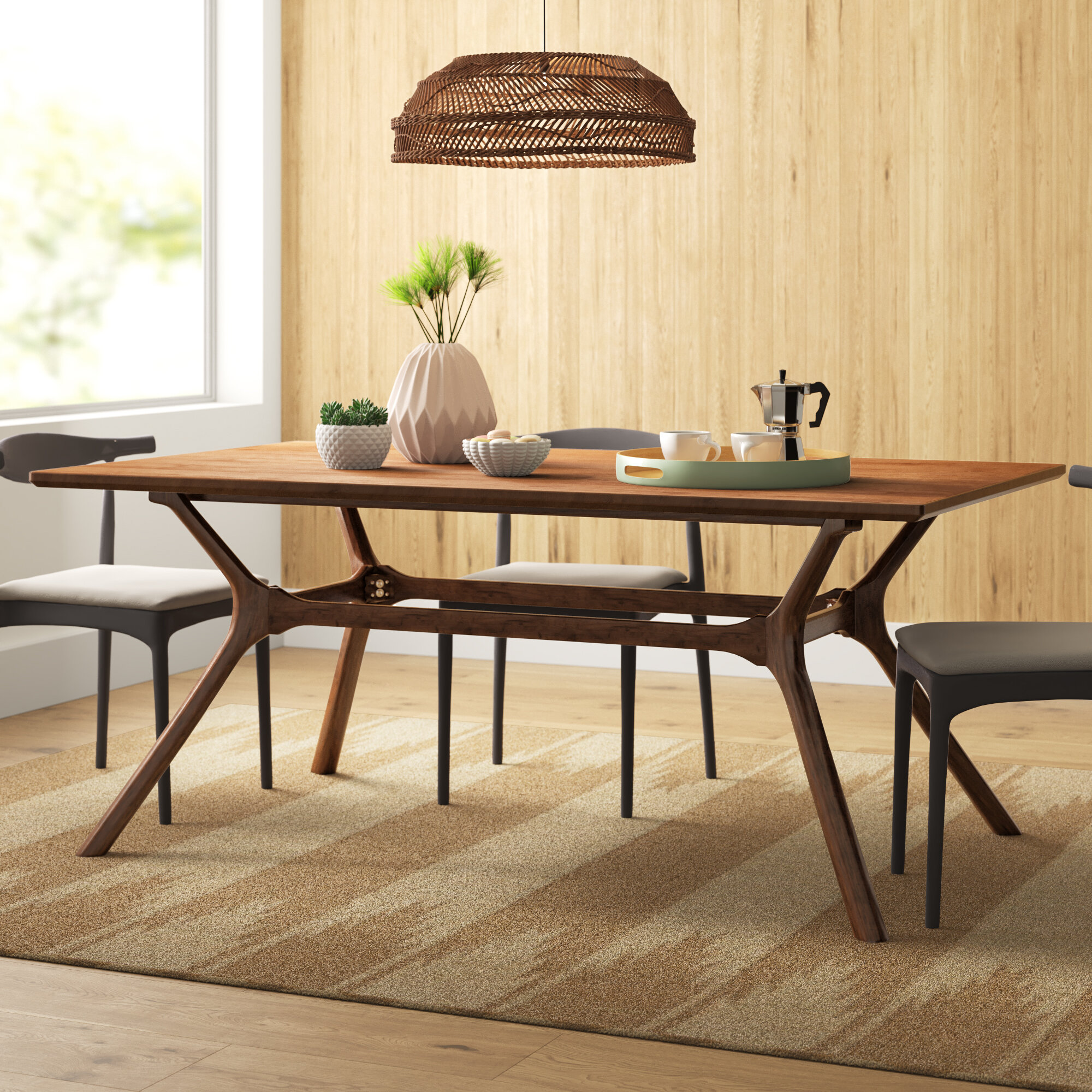 Oliver Trestle Dining Table