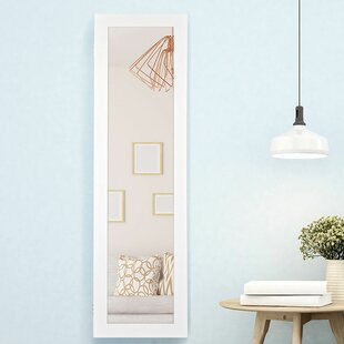Annice Over the Door Jewelry Armoire with Mirror