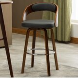 Lombard 27.76 Swivel Bar Stool by George Oliver