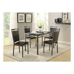 Darwen Dinette 5 Piece Dining Set Wrought Studio