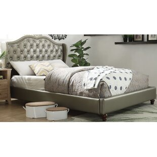 House of Hampton Overstreet Queen Upholstered Platform Bed