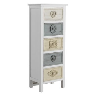 Joana 5 Drawer Chest By Lily Manor