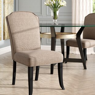 Eleta Upholstered Dining Chair (Set of 2) by Willa Arlo Interiors