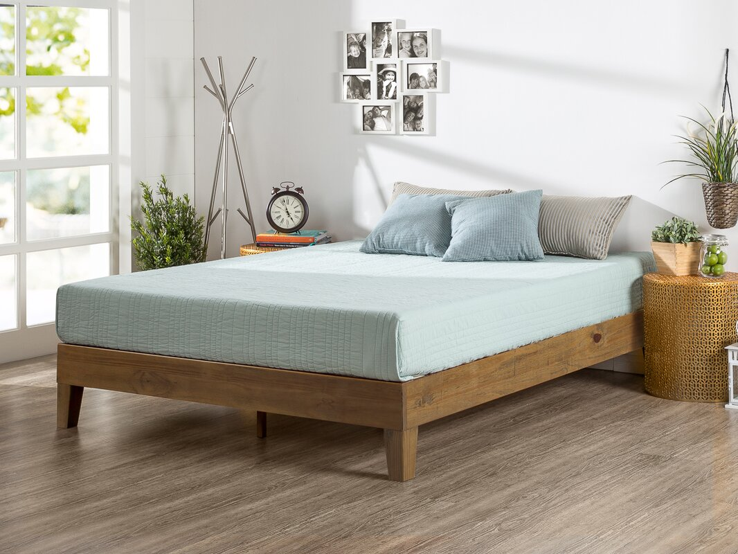 wood platform bed. alwyn home wood platform bed  reviews  wayfair