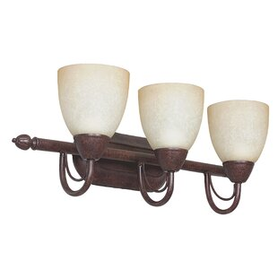 Compare & Buy Boutin 3-Light Glass Shade Vanity Light By Fleur De Lis Living