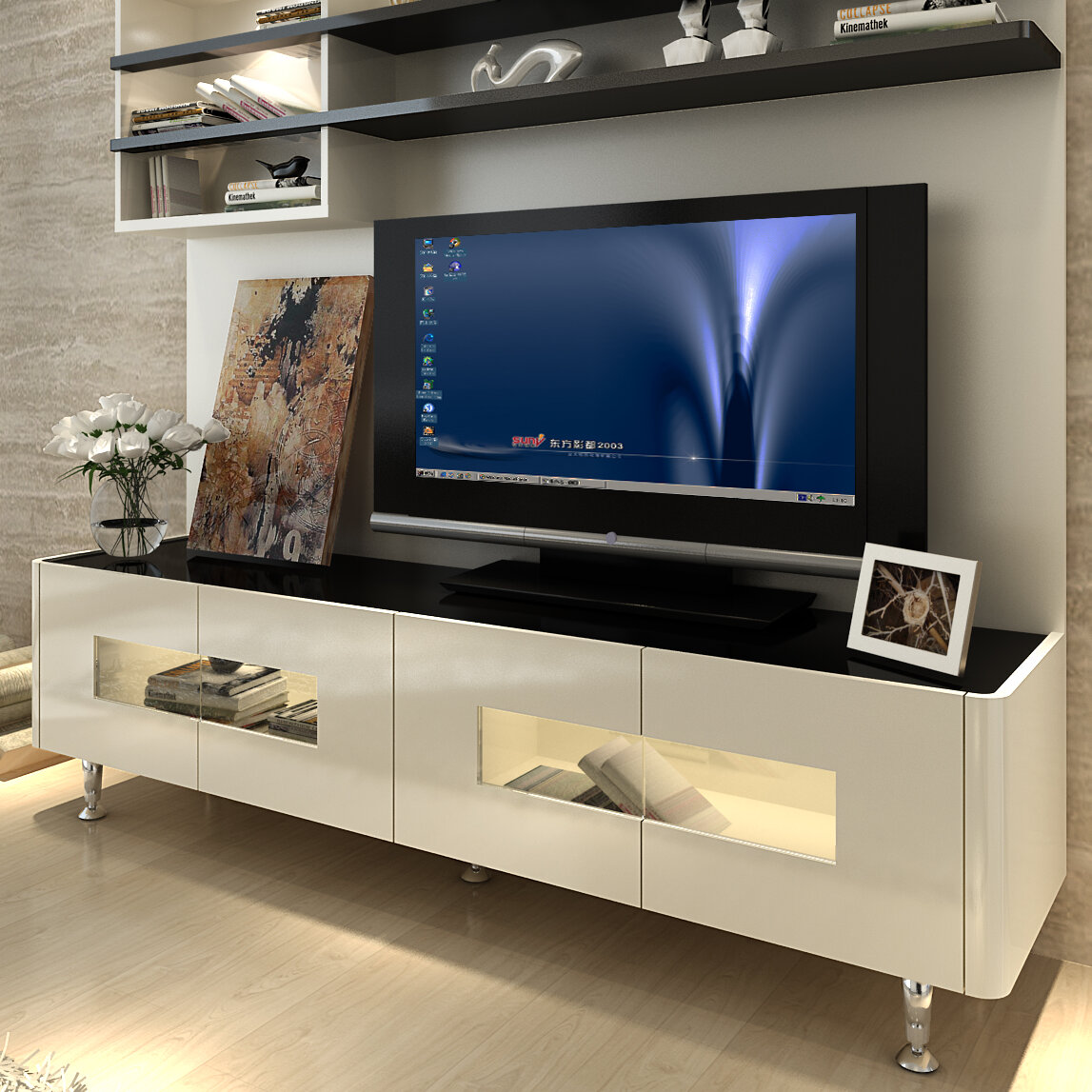 Orren Ellis Dian Entertainment Center