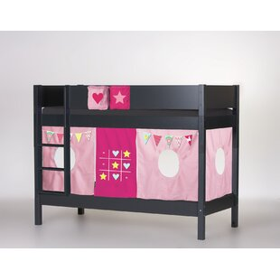 Frigg European Single Bunk Bed With Curtain By Harriet Bee