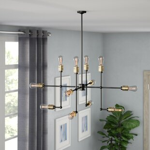 17 Stories Gilfillan 12-Light Chandelier
