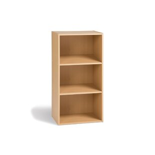 Facile Low Narrow 80cm Standard Bookcase By 17 Stories