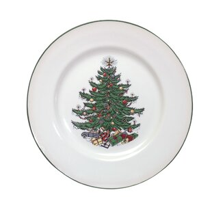 Original Christmas Tree Traditional 11\  Dinner Plate  sc 1 st  Wayfair & Christmas Paper Plates | Wayfair