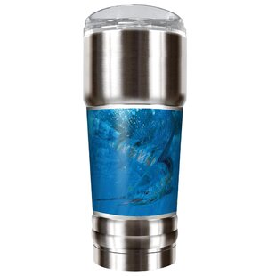 Mark Susinno's Thrashing Sailfish 32 oz. Stainless Steel Travel Tumbler