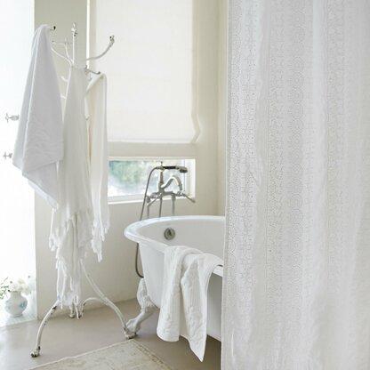 white linen shower curtain. Boho Embroidered Linen Shower Curtain Curtains  Perigold