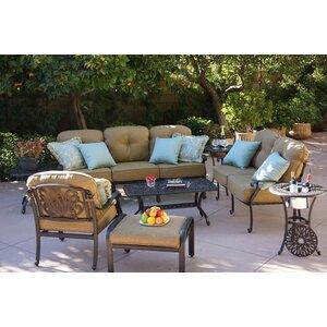 Lebanon 8 Piece Sofa Set with Cushions