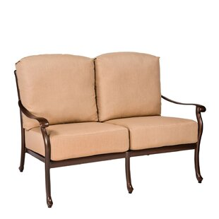 Casa Loveseat with Cushions By Woodard