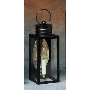 Best Deals 200 Series 1-Light Outdoor Wall Lantern By Brass Traditions