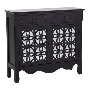 Molly 2 Door 2 Drawer Accent Cabinet by August Grove