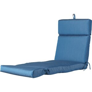 Indoor/Outdoor Sunbrella Chaise Cushion  Sunbrella Patio Cushions