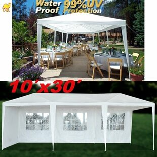 Strong Camel 30 Ft. W x 10 Ft. D Steel Party Tent Canopy