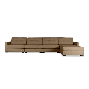 Secrest Buttoned Chaise Modular Sectional